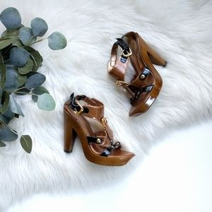/Carlos/ platform heeled sandals